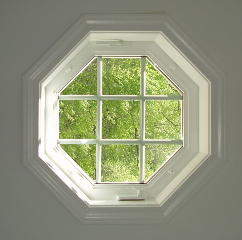Operable Octagon Window With Grids Modular Homes By