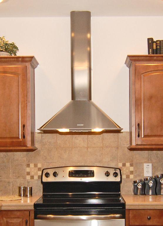 Stainless Steel Designer Range Hood Modular Homes By