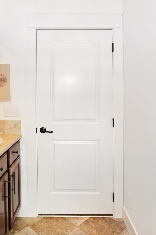 White 2 Panel Interior Door Modular Homes By Manorwood Homes An