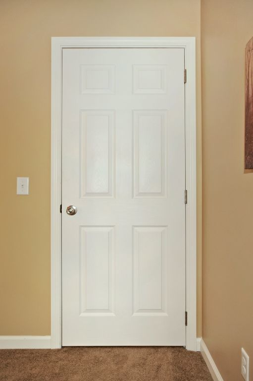 White 6 Panel Interior Door Modular Homes By Manorwood