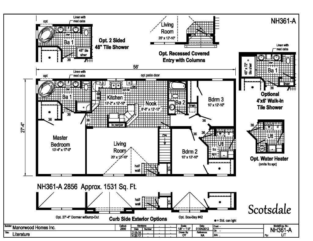 Manorwood Ranch Cape Homes Scotsdale NH361A – Manorwood Homes Floor Plans