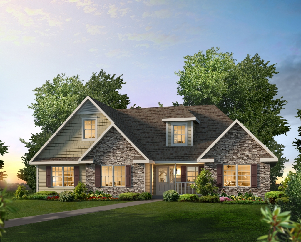 Manorwood Ranch Cape Homes Wiltshire NH366A – Manorwood Homes Floor Plans