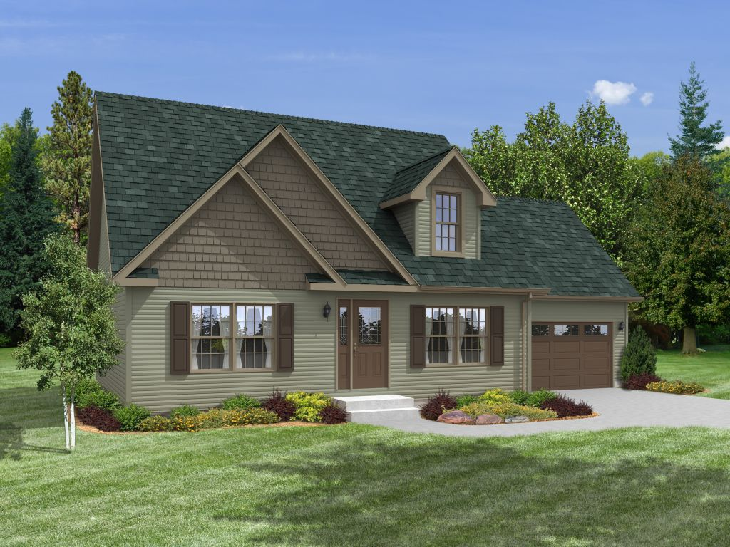 Manorwood ranch cape homes hampshire me601a find a for Home builders in new hampshire