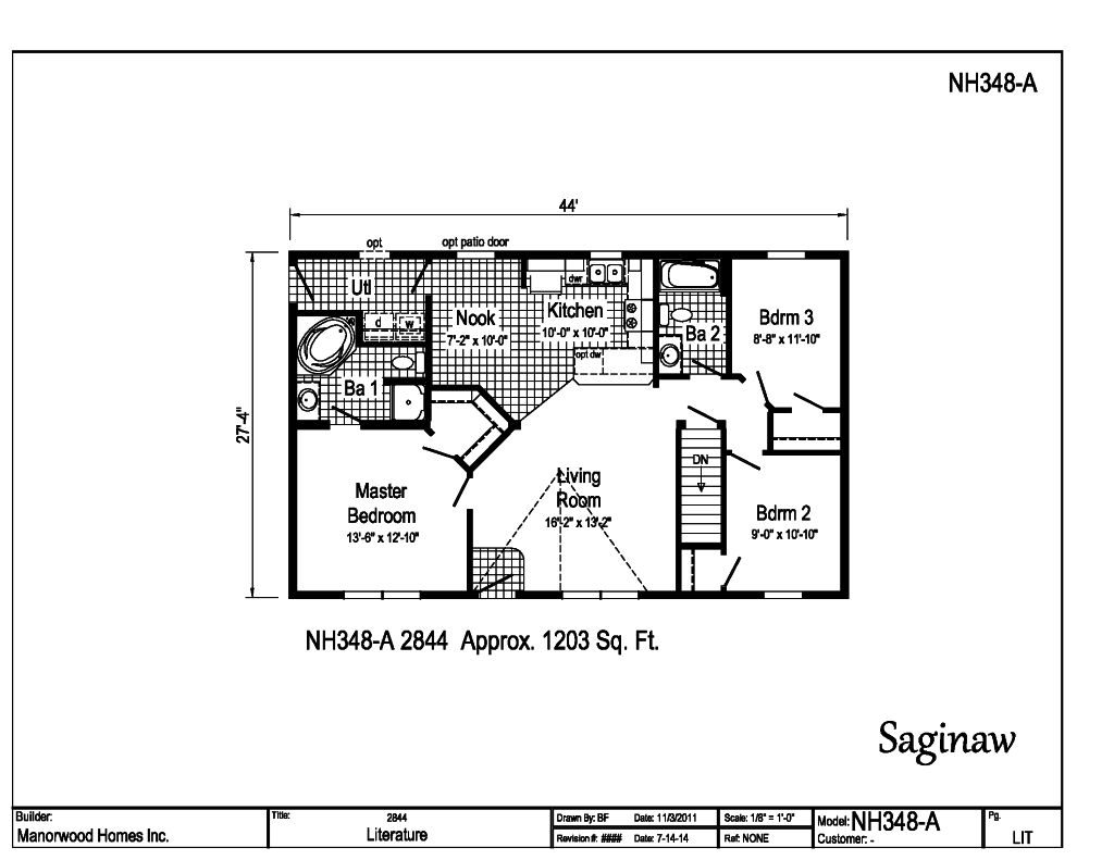 Manorwood Ranch Amp Cape Homes Saginaw Nh348a Find A