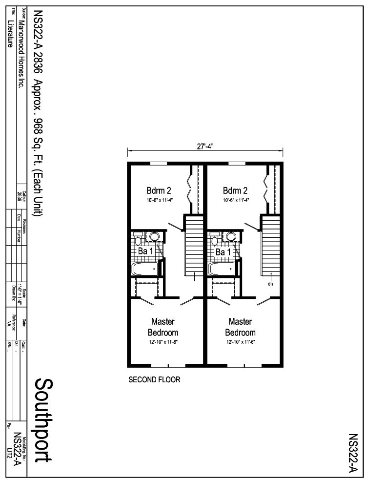 Manorwood Two Story Homes Southport NS322A – Manorwood Homes Floor Plans