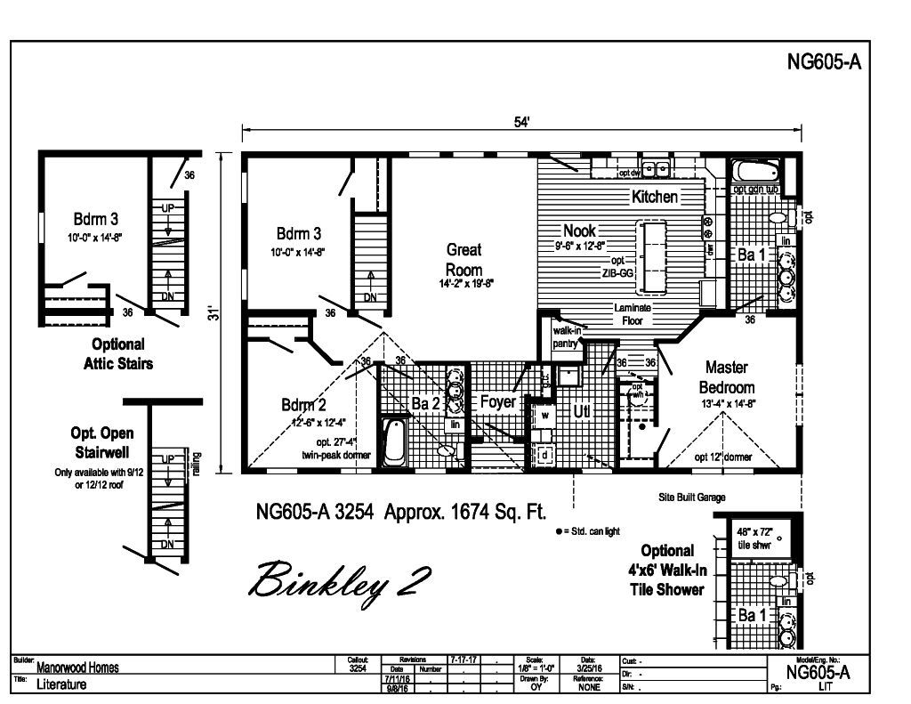 Manorwood Ranch Cape Homes Binkley 2 NG605A – Manorwood Homes Floor Plans